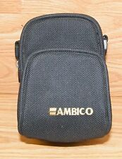 Genuine Ambico Small 4 x 6 Camera Bag With Handle w/ Front Pocket *Read*