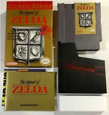 Legend Of Zelda Classic Series Rare Gray Cart Nintendo NES Boxed Complete Nr Mnt