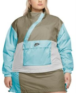 Nike Women's 3x Plus Size Icon Clash Woven Anorak, Multicolor, $100, *Defect