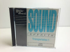 Major Records Sound Effects CD - Transportation 1
