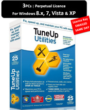 TuneUp Utilities 2013 3 PC PERPETUAL | LICENCE KEY EMAILED for Windows 8, 7 & XP