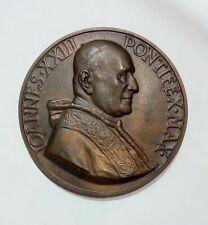 [NC] MEDAGLIONE - GIOVANNI XXIII Concilio Ecumenico Vaticano II / Br.