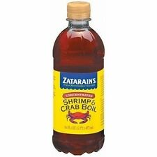 ZATARAIN'S LARGE LIQUID CONCENTRATED SHRIMP CRAB BOIL 16 OZ free cajun recipe