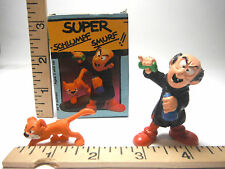 Vintage 1982 Super Schlumpf Smurf!! Posable Action Figure Made In West Germany