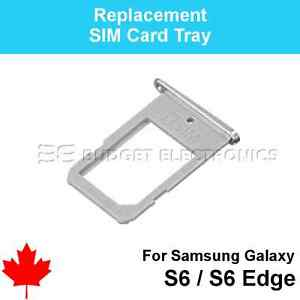 Replacement Sim Card Holder Tray FOR Samsung Galaxy S6 S6 EDGE Mobile Phone