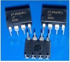 10Pcs LM833N LM83 Nsc DIP-8 Double Ampli-Op Audio À Faible Bruit cb
