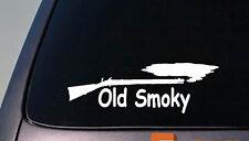 """old smoky 6"""" STICKER DEER HUNTING POWDER HORN BLACK POWDER muzzleloader 2a"""