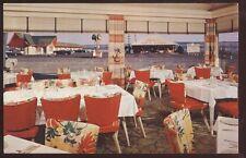 Postcard ST ANNE De BEAUPRE Quebec/CANADA  Zenith Motel Restaurant Interior 50's