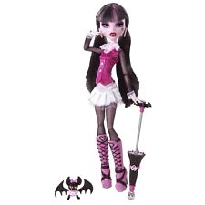 MONSTER HIGH DOLL DRACULAURA IST EDITION RARE ORIGINAL HTF PET, DIARY