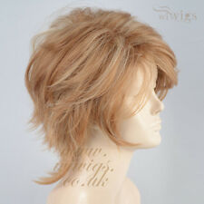 Wiwigs Lovely Short Wavy Summer Style Blonde Mix Skin Top Ladies Wig