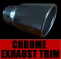 CHROME EXHAUST TAILPIPE TRIM TIP END MUFFLER FINISHER VAUXHALL ASTRA COUPE