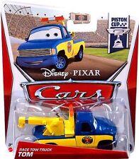 DISNEY PIXAR CARS RACE TOW TRUCK TOM #2 PISTON CUP *NEW*