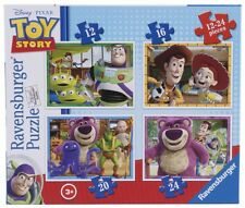 Ravensburger 07108 Disney Toy Story Four Puzzles in One Box Childrens Puzzle set