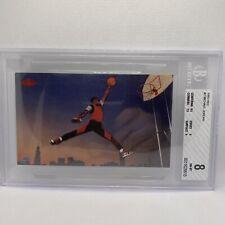 1985 Nike Michael Jordan Promo #2 BGS 8 NM-MT Chicago Bulls