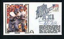 John Elway Signed Autographed JSA 1987 Super Bowl XXI Gateway Cachet Cover FDC