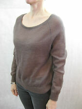 Petite Bateau Size 18ans or AU 10 Brown Mohair Sweater