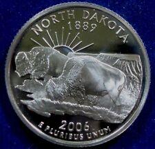 2006-S San Francisco Mint Proof North Dakota State Quarter