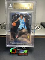 JA MORANT 2019-20 Panini Prizm Base RC #249 BGS 9.5 Rookie Of Year.
