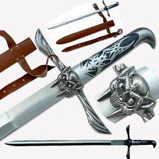 "31"" Assassins Creed Altair Majestic Steel Blade Sword w PU Sheath Cosplay #0022"