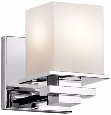 Kichler 45149Ch Tully Wall Sconce In Chrome - New(Box has been opened)