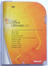 Microsoft Office 2007 Ultimate - Retail/Box mit DVD - Vollversion - Professional