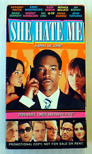 She Hate Me ~ RARE Promotional VHS ~ Spike Lee Movie ~ Promo Demo Screener
