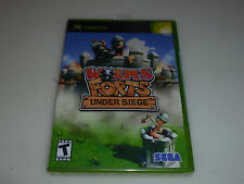 BRAND NEW FACTORY SEALED XBOX VIDEO GAME WORMS FORTS UNDER SIEGE NFS