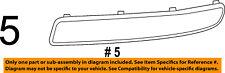 FIAT OEM 500 Front Bumper Grille Grill-Applique Window Trim Right 1SD80SZ0AA