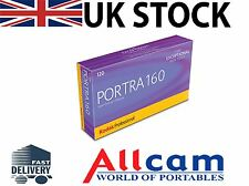 5 Pack: Kodak New Portra 160 120 Size ISO160 Color Negative Film, New