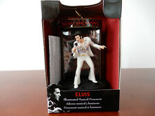 Elvis Illuminated Musical Ornament Nib