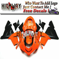Fairings For Kawasaki ZX10R ZX-10R 04 05 2004 2005 ABS Kit Bodywork Orange Black