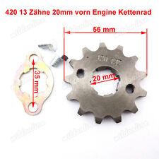 420 13 Zähne 20mm vorn Engine Kettenrad Satz für Chinese ATV Quad Pit Dirt Bike