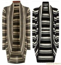 Women's Thin Knit Boleros Shrugs Striped Jumpers & Cardigans
