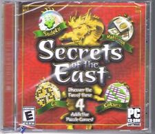 SECRETS OF THE EAST * PC CD-ROM MAHJONGG *SEALED NEW! Free USA Shipping!