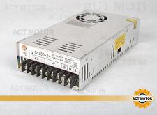 Act motor GmbH fuente de alimentación 350w 24v 14.6a motor PAP NEMA 23 cnc Power Supply