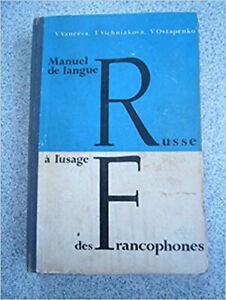 Manuel de langue russe à l'usage des francophones