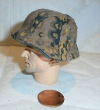 Dragon German helmet with autumn camo cover 1/6th scale toy accessory