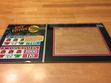 IGT Hot Peppers Slot Machine Glass 9.25x19.5in