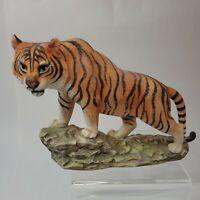 Vintage Porcelain Bengal Tiger By Andrea Sadek #5934 Japan