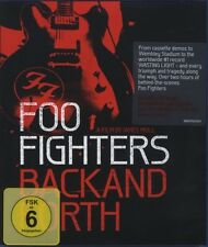 """FOO FIGHTERS """"BACK AND FORTH"""" BLU RAY NEU"""