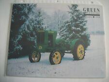 New listing John Deere Model 62 Tractor Green Magazine January 1994