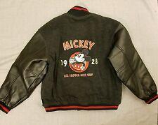 Disney Mickey Mouse Nice Guy 1928 Wool Letterman Varsity Jacket Mens Size Medium