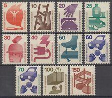 GERMANY federale BRD 1971/74 ** mi.694/03+773 prevenzione degli infortuni accident prevention