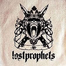LOSTPROPHETS Screaming Monkey White Canvas PATCH Rare NEW OFFICIAL MERCHANDISE