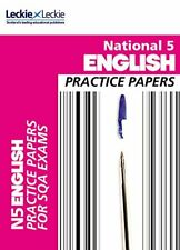 National 5 English Practice Papers for SQA Exams by Craig Aitchison Book The