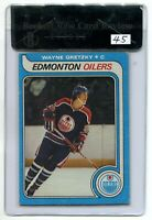 1979-80 TOPPS WAYNE GRETZKY #18 ROOKIE RC BVG BGS 4.5 RAW REVIEW EDMONTON OILERS