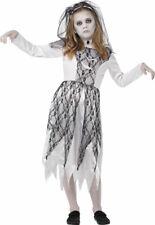 Ghost Bride Childrens Fancy Dress Ghost Ghosts Witch Halloween Fancy Dress Girl