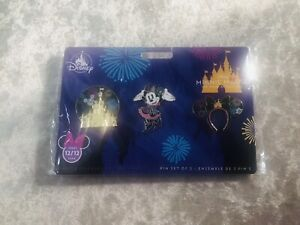 Disney Minnie Mouse Main Attraction December Pins BNWT 12/12
