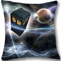 Doctor who Custom Zippered 18x18 Cushion Cover Case Decorative Pillowcase L615