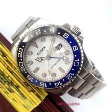 43mm Bliger Date SS Leuchtzeige Saphirglas Automatisch movement Uhr men's watch